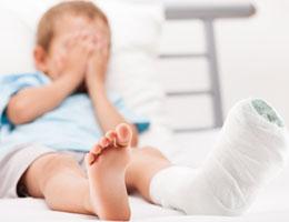 Wypadek dziecka
